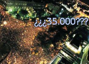 Los 35.000 del Gobierno: los cálculos de asistentes a la protesta del 14-N provoca indignación