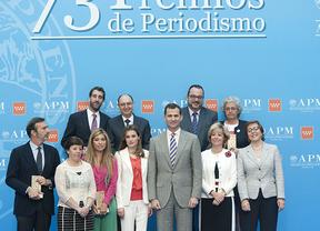 Los premios de la APM se convierten en un homenaje a Fran Llorente, director de informativos de TVE