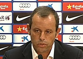 Rosell anuncia la salida de Tito Vilanova del Barça por una recaída