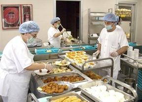 Hallan restos fecales en la comida de los hospitales públicos navarros