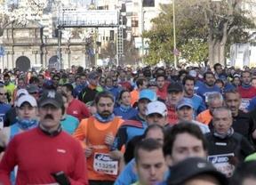 La Maratón de Madrid arrancó con un minuto de silencio por el atentado de Boston