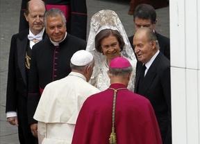 El Papa y los Reyes charlan sobre su prevista visita a España en 2015 que ya avanzó Diariocrítico