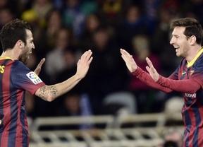 Copa: el morbo está servido con un 'clásico' como finalísima tras el cómodo empate del Barça en Anoeta (1-1)