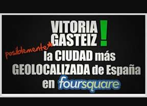Vitoria-Gasteiz la ciudad más geolocalizada de España (posiblemente)