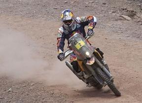 Marc Coma acaricia su cuarto Dakar tras imponerse en la undécima etapa
