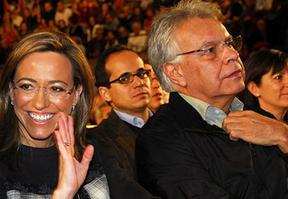 Felipe González y Marcelino Iglesias defienden a Chacón de los ataques de Bono y Guerra