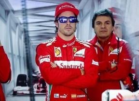 GP de Japón: Alonso sólo queda quinto en los primeros entrenamientos superado por Vettel y Weber