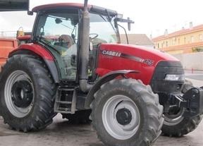 Cientos de agricultores de Castilla-La Mancha se movilizan en Madrid