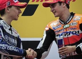 Más duelo español: el título en Moto GP es sólo cosa de dos: Lorenzo y Pedrosa