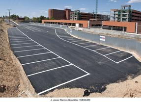 La segunda fase de obras del aparcamiento adyacente al Hospital de Guadalajara comenzará en enero