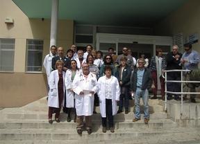 Médicos y pacientes de Castilla-La Mancha se concentran para recuperar el valor de la Atención Primaria