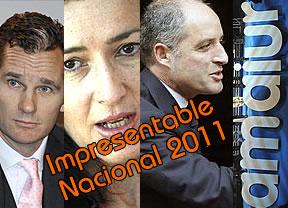 Les presentamos a los finalistas para el Premio Im-presentable Nacional 2011