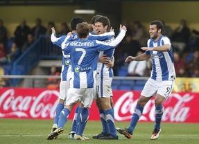 El Villareal no consigue doblegar a la Real Sociedad y termina con un empate (1-1)