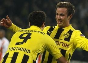 Champions: el Borussia se postula al título, con una fácil victoria ante el Shakhtar (3-0)