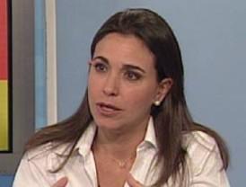 Diputada Machado dice que Venezuela desea un cambio