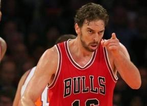 NBA: otro gran partido de Pau lleva a 'sus' Bulls a ser líderes de la División Central