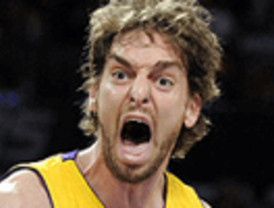 Sexto doble-doble de un Pau Gasol clave en otra paliza de los Lakers (95-112) a Minnesota