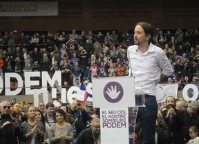 Iglesias insiste en 'abrir el candado del 78' para discutir democráticamente la independencia de Cataluña