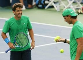 Shangai trae mala suerte a Nadal y Marc López: caen en la primera ronda de dobles