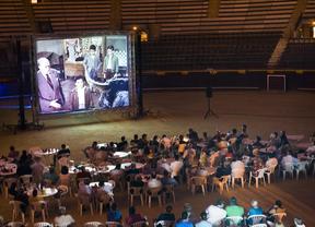 La plaza de toros rinde un homenaje de cine a Alfredo Landa