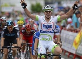 El alemán Degenkolb repite victoria en el circuito urbano de Logroño; 'Purito' sigue líder