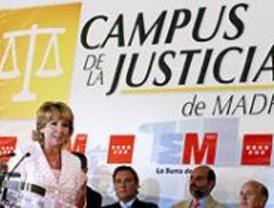 La CAM presenta las maquetas del Campus de la Justicia