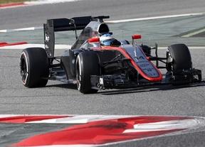 Alonso estará uno o dos días hospitalizado tras sufrir un accidente en Montmeló