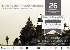 LAND ROVER TRAIL EXPERIENCE III CARRERA POR LA DISCAPACIDAD FUNDACIÓN APASCOVI DOMINGO 26 DE OCTUBRE