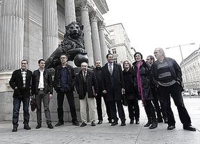 Amaiur 'cuela' su grupo parlamentario en el día de la constitución de las Cortes