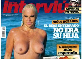 Leticia Sabater dice en Twitter que las fotos de su topless en 'Interviú' son robadas
