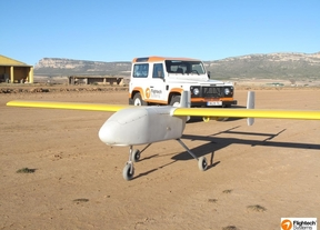 El primer 'drone' matriculado en Europa es español