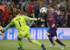 Ni Luis Enrique ni Messi quieren confianzas en Múnich para apuntillar al Bayern de Guardiola