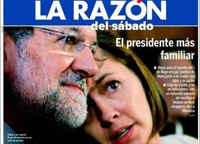 La portada de la Razón, en el ojo del huracán de Twitter con el #TupperdeRajoy