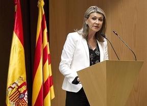 La delegada del Gobierno en Cataluña, en el centro de la polémica por homenajear a la División Azul
