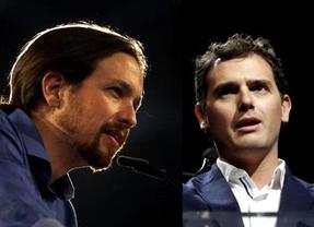 El debate de los 'nuevos', ¿cada vez más cerca?: Rivera no se niega a debatir con Iglesias