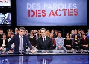 Sarkozy mete miedo a los franceses con que si ganan los socialistas, llegará el paro de Zapatero
