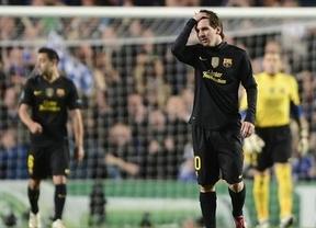 El Barça confía en 'recuperar' a Messi para evitar la tragedia de la eliminación ante el Chelsea