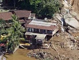 Los decesos por las torrenciales lluvias en Brasil llegaron este domingo, a 630