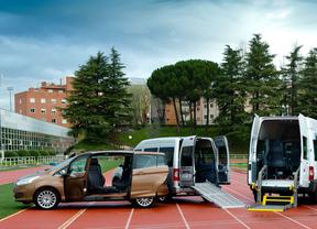 Ford y la Once presentan un plan de vehículos adaptados a personas con discapacidad