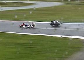 Jorge Lorenzo se pierde el GP de Holanda tras romperse la clavícula en los libres