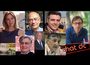 Los mejores chats, en Diariocrítico: charle en directo con Pedro Sánchez (PSOE), Tania Sánchez (IU), Ramón Marcos (UPyD), escritores como Henry Kamen, Ángel Viñas...