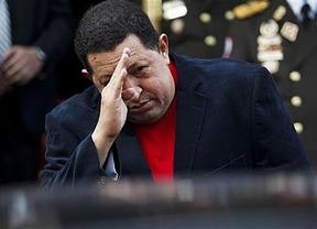 Los más cercanos a Chávez admiten que el presidente venezolano está