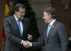 El presidente de Colombia respalda a Rajoy y pide que se respete la integridad territorial de España