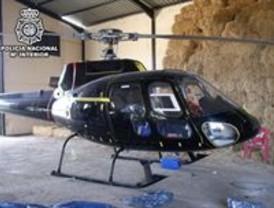 Desarticulan una red que traía cocaína en helicóptero desde Marruecos