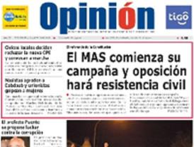Trinidad Jiménez propone un acuerdo al Gobierno de Evo Morales para que los bolivianos lleguen a España con contrato
