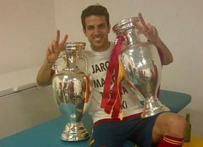 Los chicos de La Roja celebran su victoria en la Eurocopa en Twitter y Facebook