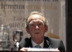El director de la RAE, José Manuel Blecua, en un acto ayer en Buenos Aires (EFE)