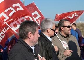 Unos 300 trabajadores de Airbus Illescas se concentran para apoyar a 8 sindicalistas procesados