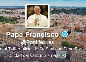El primer 'tuit' de Francisco