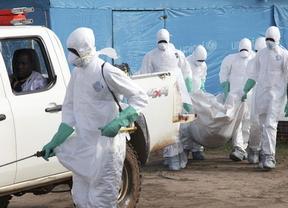 Huelga de trabajadores de la sanidad de Liberia en plena lucha contra el ébola